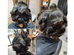 短髮燙髮、台中燙髮推薦、台中資生堂燙髮推薦