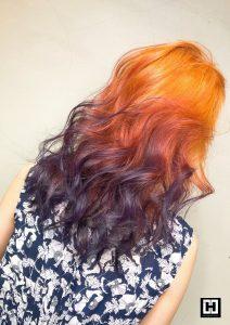 特殊色推薦、染髮推薦、pony美妝達人髮色、百搭髮色、魅惑紫珊瑚橘、淺色漂髮
